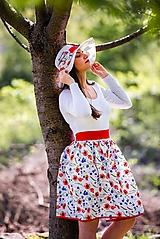 Sukne - Dámska sukňa Vlčie maky - 10708299_