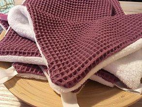 Úžitkový textil - Uteráčik rozmaz(n)ávací  (Bordová (mauve)) - 10708027_