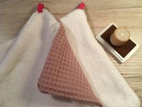 Úžitkový textil - Uteráčik rozmaz(n)ávací  (Staroružová) - 10708134_