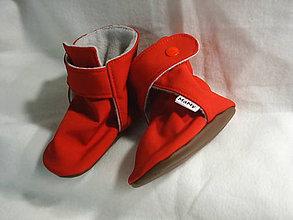 Topánočky - softshellové čižmičky do nosiča (6-12m 13cm) - 10707862_
