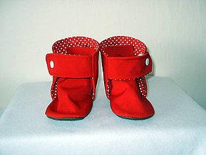 Topánočky - softshellové čižmičky do nosiča (podšité bavlnou) - 10707863_