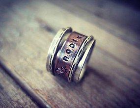 Prstene - Rotujúci prstienok - 10707934_