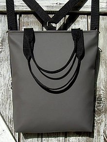 Batohy - backpack 3in1-  basic grey - Batoh & taška cez rameno - 10705756_