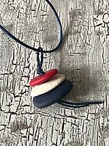 Sady šperkov - námornícke TRIO-náhrdelník - 10705916_