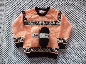 Detské oblečenie - Detský svetrík veľ. 116/124 - 10709957_