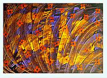 Obrazy - Jesenná lúka - 10711532_