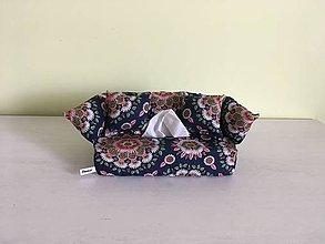 Krabičky - Obal na servítky - Mandala kvety - 10711301_
