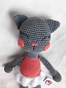 Hračky - Mačička baletka - 10709182_