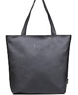 Veľké tašky - Kožená taška MAXI SHOPPER - 10711656_