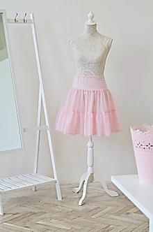 Sukne - Spodnička pod šaty/sukňu - 10708883_