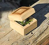 Krabičky - Krabička na zasnubný prsten - 10711034_