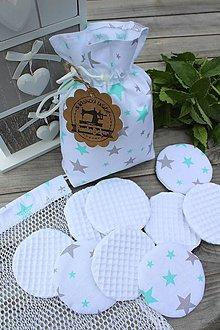 Úžitkový textil - Sada odličovacích tampónov - 10710757_
