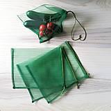 Úžitkový textil - Nákupné eko vrecko - stredné zelené (1 ks) - 10709491_
