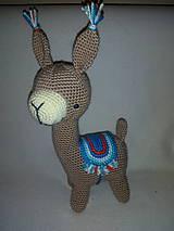 Hračky - Lama (Modrá) - 10709004_