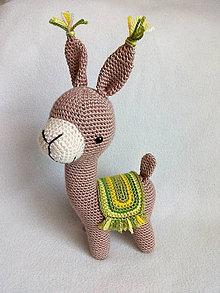 Hračky - Lama (Zelená) - 10709005_