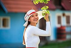 Čiapky - Dámsky letný klobúk slamený Vlčie maky - 10709960_