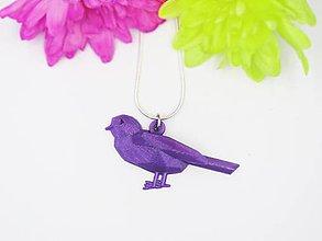 Náhrdelníky - Prívesok vtáčik - 10709323_