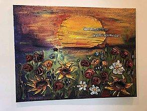 Obrazy - Predám obraz - 10709984_