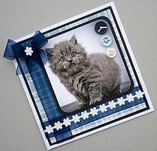 Papiernictvo - Pohľadnica s britskou modrou - 10710984_