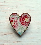 brošňa ruže