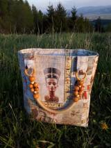 Veľké tašky - Priestranná taška s rúčkami (Nefertiti) - 10713432_
