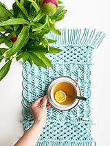 Úžitkový textil - Makramé obrus/prestieranie
