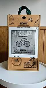 """Krabičky - Box na víno """"Bike"""" - 10715040_"""