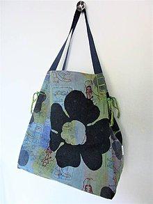Veľké tašky - Veľká pestrofarebná  taška - 10712997_