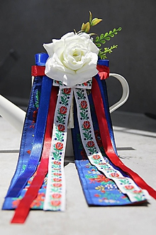 Pierka - pierko pre starejšieho alebo ženícha folklórne - 10711893_