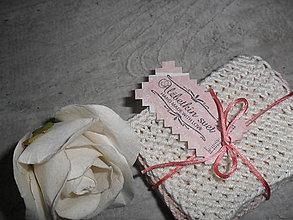 Úžitkový textil - Odličovacie tampóny. - 10712776_