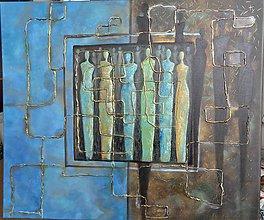 Obrazy - Labyrint  - abstrakt - 10714588_