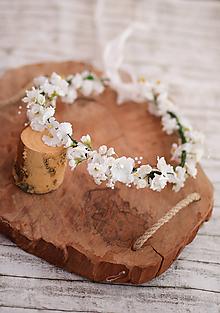 Detské doplnky - Kvetinový venček na prvé sväté prijímanie - 10712211_