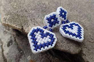 Náušnice - Náušnice Čerešničky (Modrá) - 10714729_