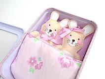 Hračky - Rozprávková krabička (Zajačiky) - 10712093_