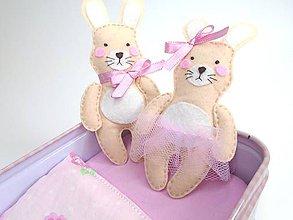 Hračky - Rozprávková krabička (Zajačiky) - 10712112_