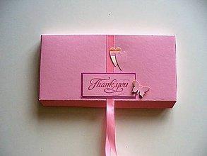 Krabičky - vyklápacia krabička na fotky, čokoládu, hotovosť... - 10712667_