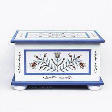 Nábytok - Maľovaná truhlica - 10713549_