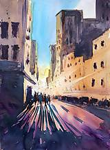 Obrazy - Svetlo v meste - 10714116_