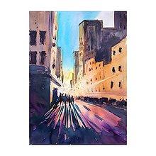 Obrazy - Svetlo v meste - 10714119_