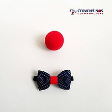 Detské doplnky - Detský motýlik pre o.z. ČERVENÝ NOS Clowndoctors - 10714879_