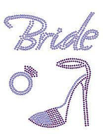 Galantéria - Bride s topánkou a presteňom - 10713463_