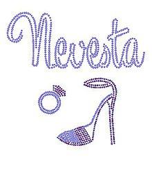 Galantéria - Nevesta s topánkou a prsteňom - 10713532_