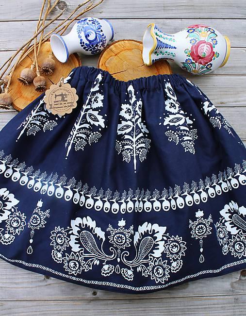 Detská suknička...folk