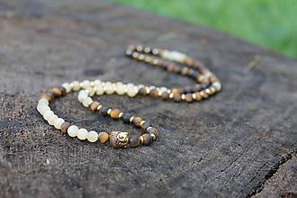 Náramky - Buddha*09 náhrdelník - 10713370_