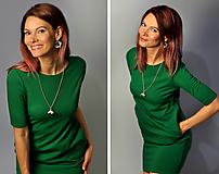 Šaty - Šaty Greenie (M) - 10713380_