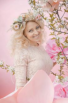"""Ozdoby do vlasov - Kvetinový venček """"čaro májových dní"""" - 10712169_"""
