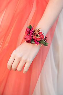 """Náramky - Kvetinový náramok """"v krajine makov"""" - 10712522_"""
