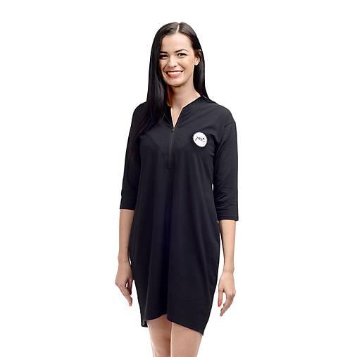 Dámska nočná košeľa Čierna