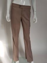 Nohavice - Biznis nohavice pieskové - 10714639_