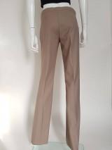 Nohavice - Biznis nohavice pieskové - 10714643_